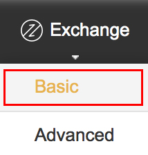 Binance(バイナンス)Exchange-Basic