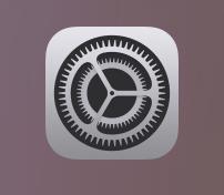 iPhoneの設定アイコン