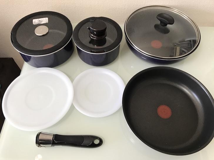 ティファール(T-fal)の鍋・フライパンセット