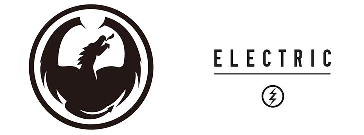 ドラゴンとエレクトリックのロゴ