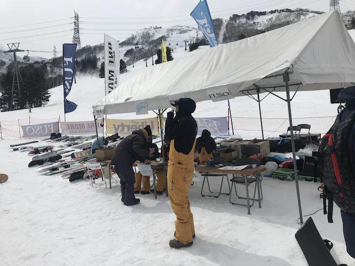 New Model ドリームゲート試乗祭 in 苗場